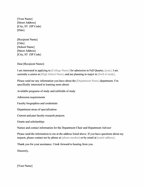 information request letter - Monza berglauf-verband com