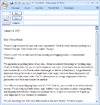 E-mail Message: Sales Letter For Service
